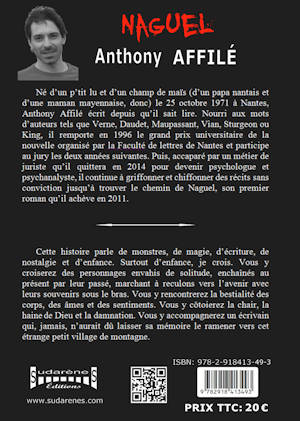 Photo  du livre: Naguel par Anthony Affilé