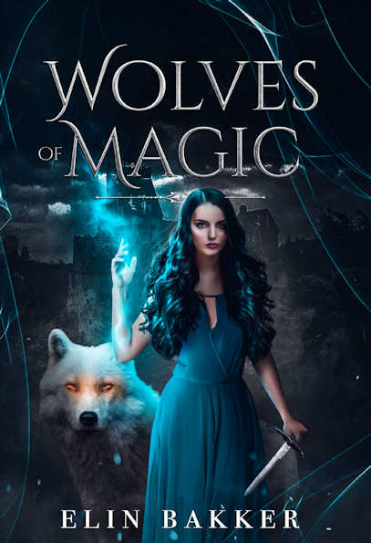 Photo recto du livre:Wolves of Magic par Elin Bakker