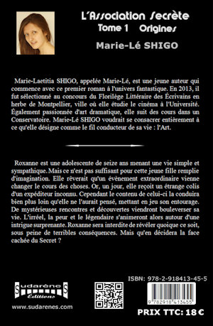 Photo du livre: L'association secrète par Marie_Lé Shigo
