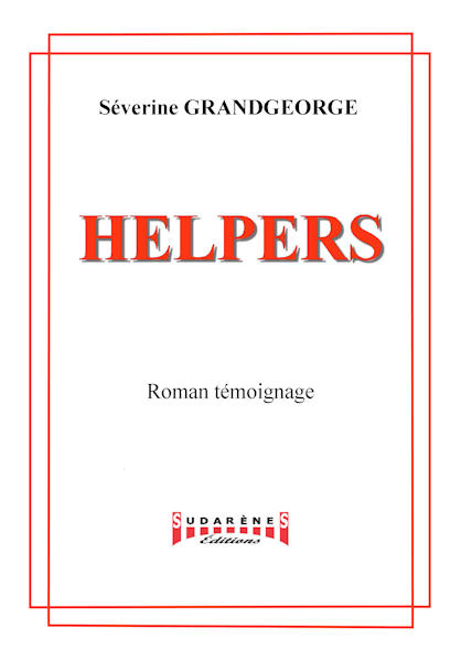 Photo recto du livre:Helpers par Séverine Grandgeorge