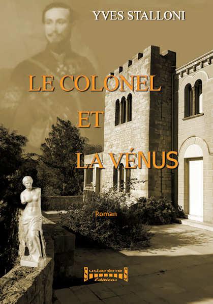 Photo  du livre: Le colonel et la vénus  par Yves Stalloni