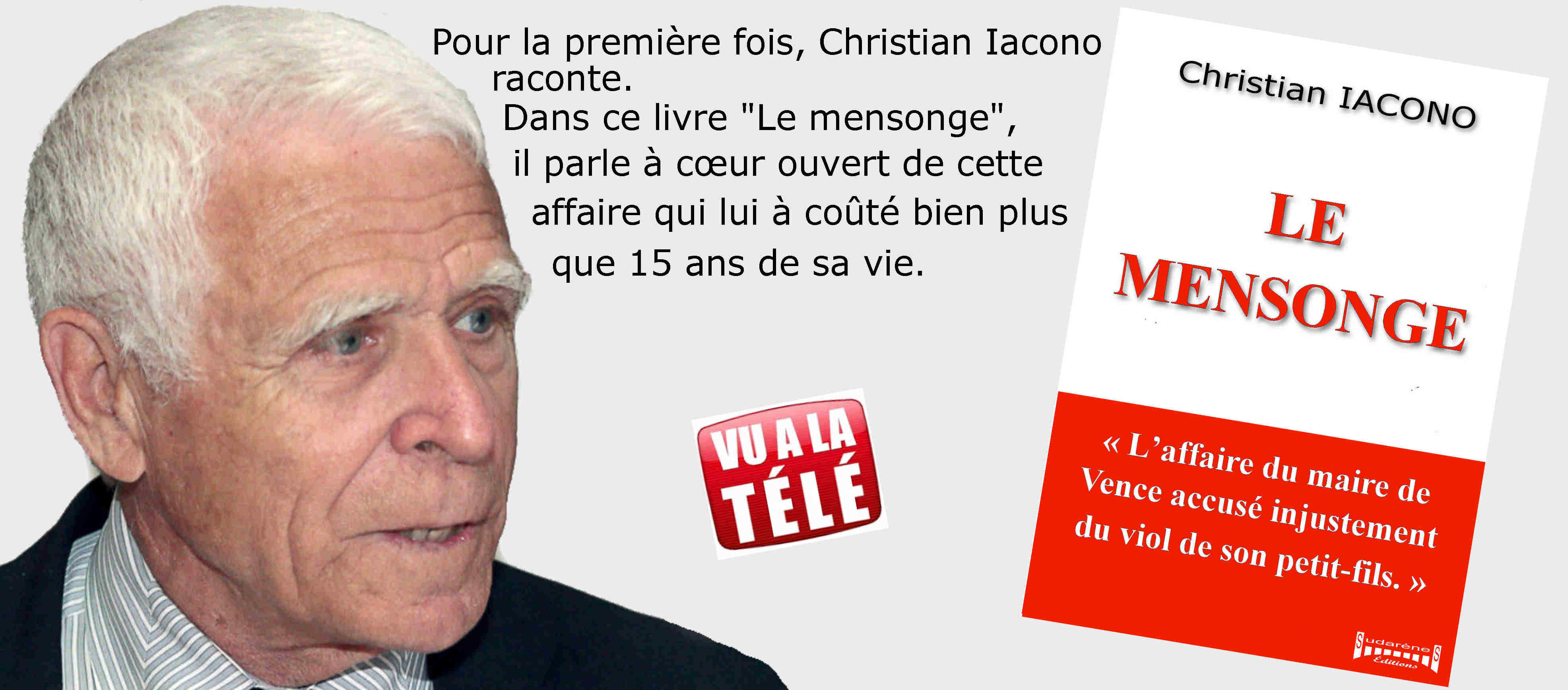 Photo du livre: Le mensonge par Christian Iacono